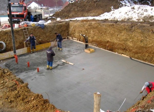 требуется бетон