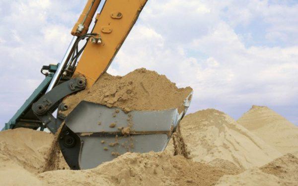 Карьеры строительного песка